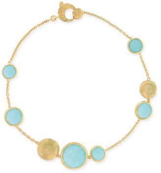 Marco Bicego Jaipur Turquoise Station Bracelet