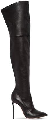 Casadei 100mm Blade Stretch Nappa Leather Boots