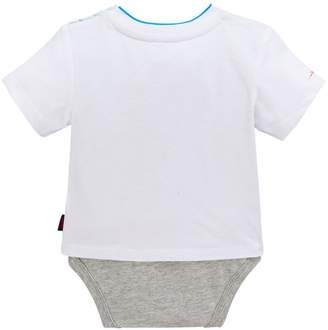 3be2d2784 Ted Baker Baby Boys City Short Sleeve T Shirt Body Suit - White
