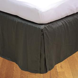 "RBS Bedding's 400 Thread Count Egyptian Cotton 1-Piece Split Corner Bed Skirt 22"" Drop Length Solid"