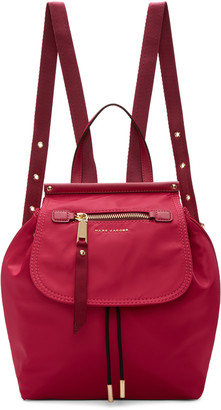 Marc Jacobs Pink Trooper Backpack $275 thestylecure.com