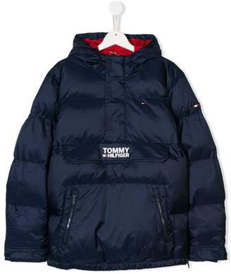 Tommy Hilfiger (トミー ヒルフィガー) - Tommy Hilfiger Junior TEEN padded ripstop jacket