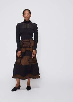 Issey Miyake Stag Pleat Skirt