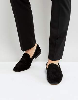 Zign Shoes Suede Dress Loafers