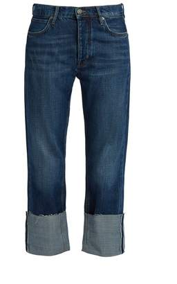 MiH Jeans Phoebe Low Slung Boyfriend Jeans - Womens - Indigo