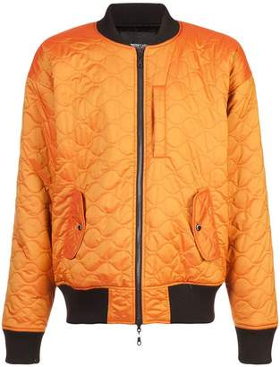 Mostly Heard Rarely Seen quilted bomber jacket