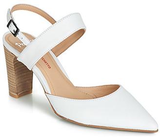 Perlato PLATINO women's Sandals in White