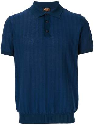 Tod's textured polo shirt