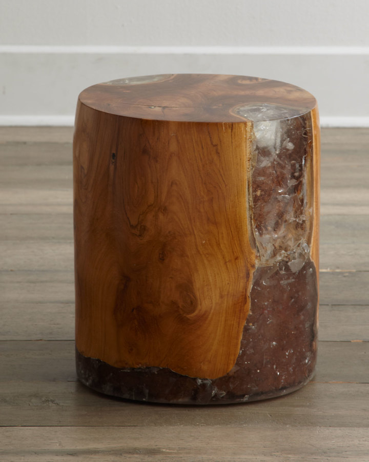 "Horchow ""Sherwood"" Oval Side Table"