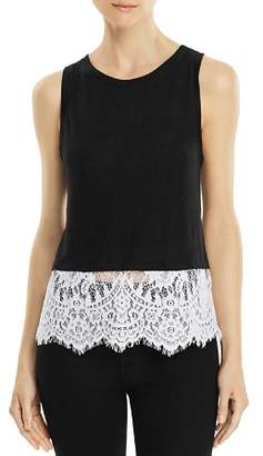Generation Love Mila Lace-Hem Tank