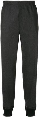 Alexander McQueen elasticated loose trousers
