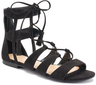 LC Lauren Conrad Women's Gladiator Sandals $49.99 thestylecure.com
