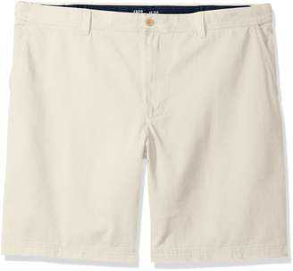 Izod Men's Big and Tall Flat Front Printed Short