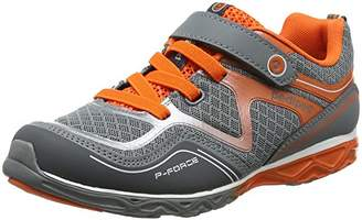pediped Boys' Force Trainers (Grey Orange), 9 Child UK 27 EU