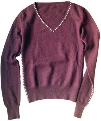 Anthropologie Burgundy Cashmere Knitwear for Women