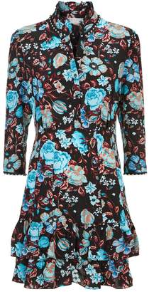Sandro Floral Mini Dress