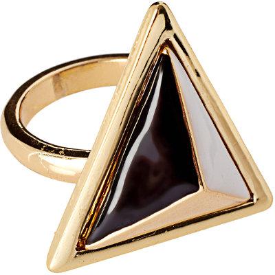 ASOS Enamel Triangle Ring