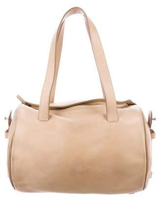 The Row Leather Drum Bag 10