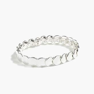 J.Crew Stacked circle stretch bracelet