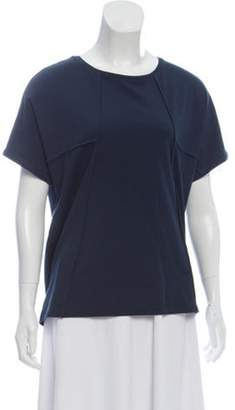 Ãeron Short Sleeve Scoop Neck T-shirt w/ Tags Navy Ãeron Short Sleeve Scoop Neck T-shirt w/ Tags