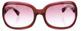 Paul Smith Oversize Rectangle Sunglasses $70 thestylecure.com