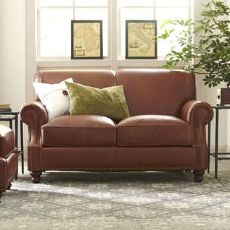 Birch Lane Landry Leather Loveseat Body