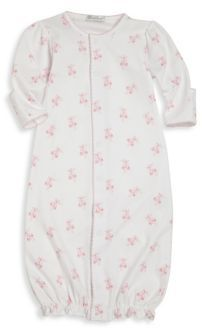 Kissy Kissy Baby's Ballet Slippers Print Pima Cotton Converter Gown $43 thestylecure.com