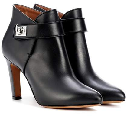 Givenchy Shark leather ankle boots