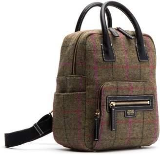 Frances Valentine Plaid Wool Backpack