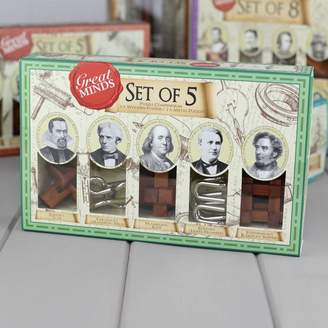 Nest Set Of Five Puzzles Based On Great Minds