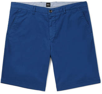 HUGO BOSS Crigan Stretch-Cotton Twill Shorts