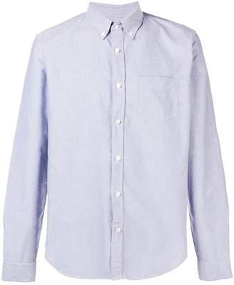 Closed button-down Oxford shirt