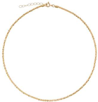 Lil Milan 18kt yellow gold Stardust necklace