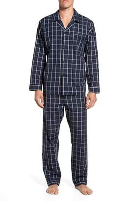 Majestic International Channing Windowpane Pajama Set