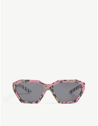 Prada Irregular frame sunglasses