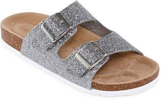 Arizona Forum Womens Criss Cross Strap Footbed Sandals