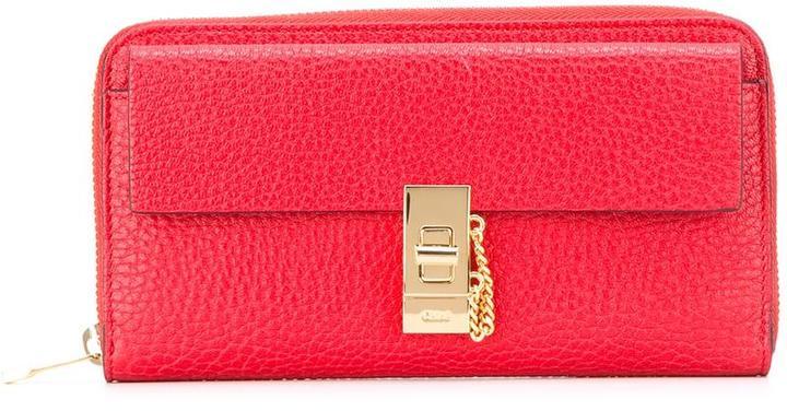 Chloé Chloé Drew long wallet