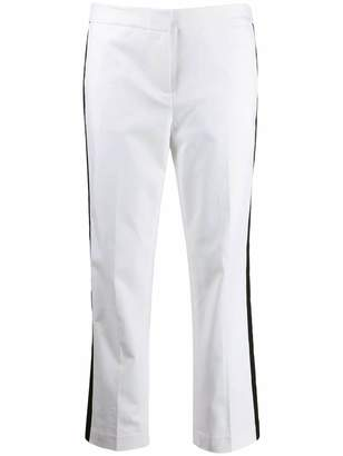 MICHAEL Michael Kors side stripe cropped trousers