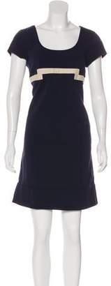 Diane von Furstenberg Cap Sleeve Mini Dress