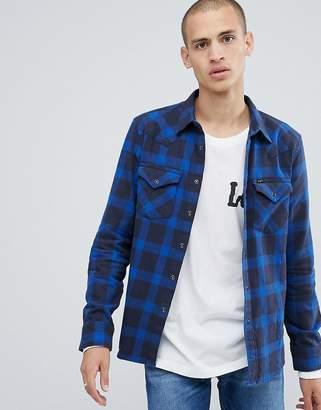 Lee western shirt navy
