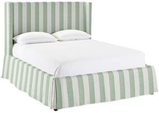 Serena & Lily Tall Broderick Slipcovered Bed