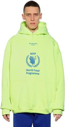 Balenciaga World Food Program Sweatshirt Hoodie