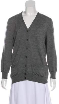 Marc Jacobs Wool Long Sleeve Cardigan
