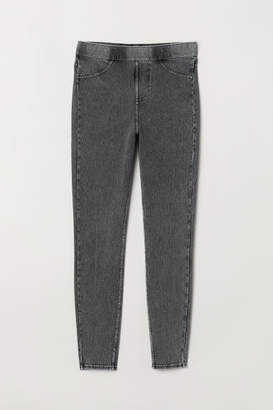 H&M Jersey Leggings - Gray