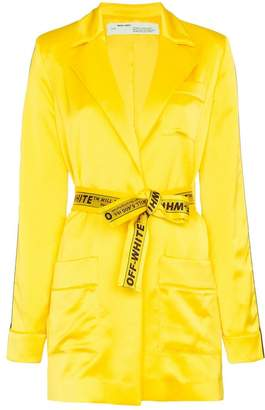 Off-White Tie-waist pyjama jacket