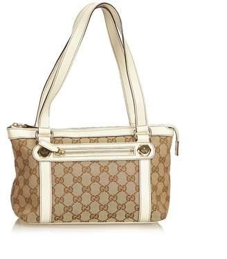 Gucci Vintage Guccissima Jacquard Shoulder Bag