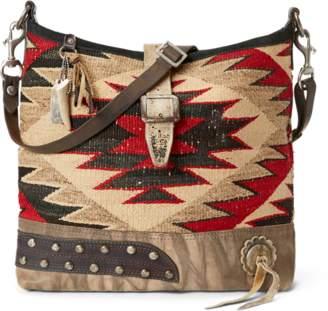 At Ralph Lauren Southwestern Inspired Bag