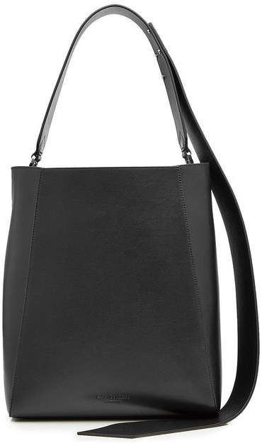 CALVIN KLEIN 205W39NYC Leather Bucket Tote