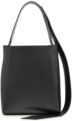 Calvin Klein Leather Bucket Tote