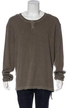 Ksubi Henley Knit T-Shirt